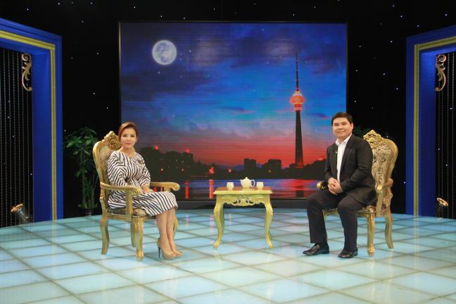 嘉域祥美集团董事长做客CCTV《超越》栏目